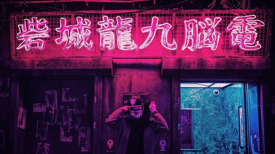 15. Если вы когда-нибудь посетите Японию, обязательно прогуляйтесь по ночному Токио.