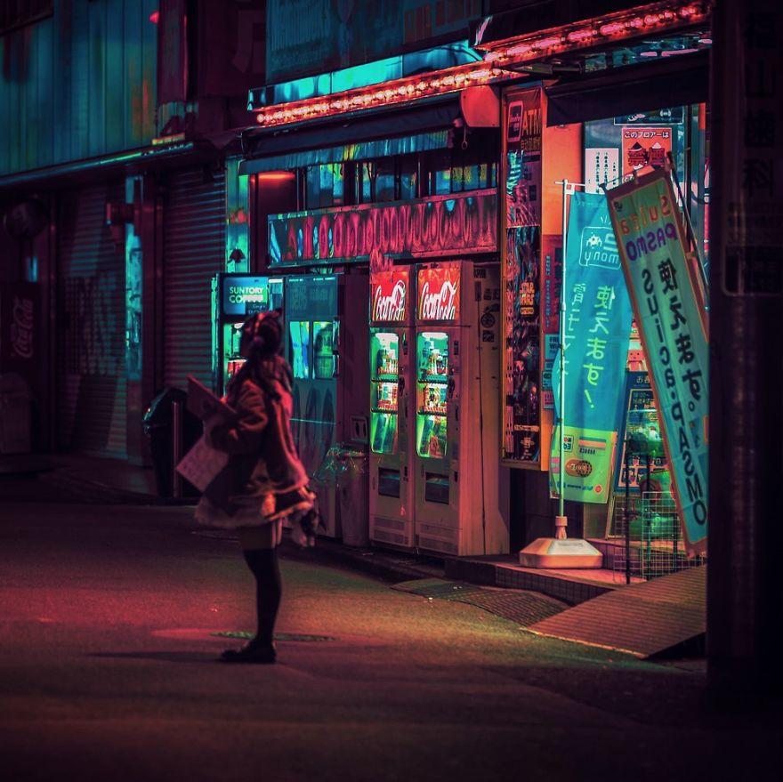 8. «Я буквально заблудился в красоте ночного Токио».