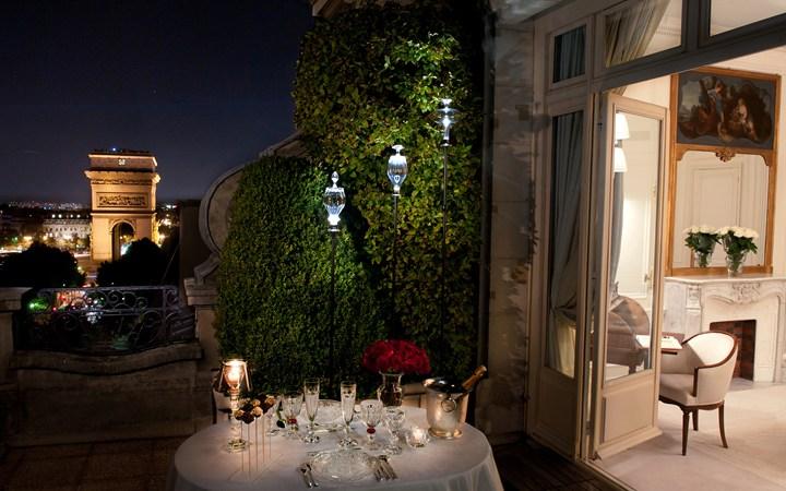8. Отель Raphael, Париж.