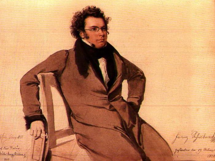 1.Франц Шуберт.
