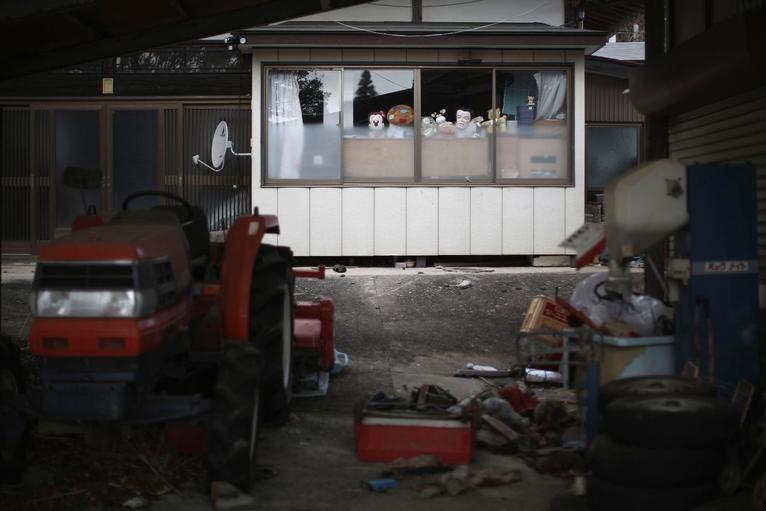 6. Заброшенные дома и магазинчики.