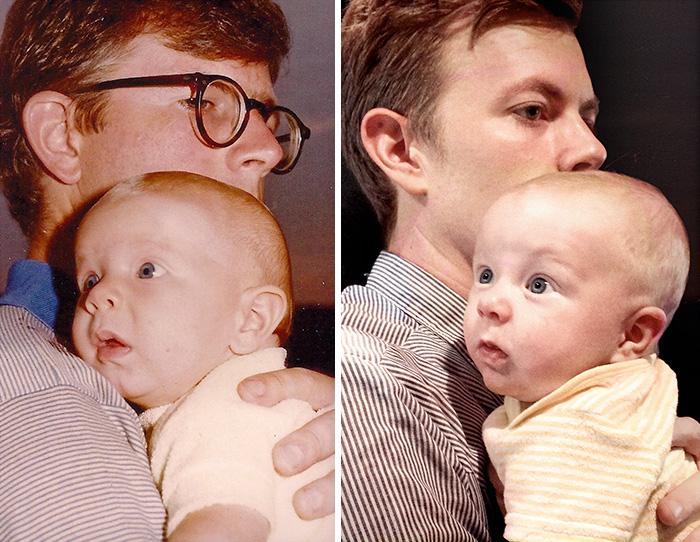 14. Отец с сыном и сын с внуком.