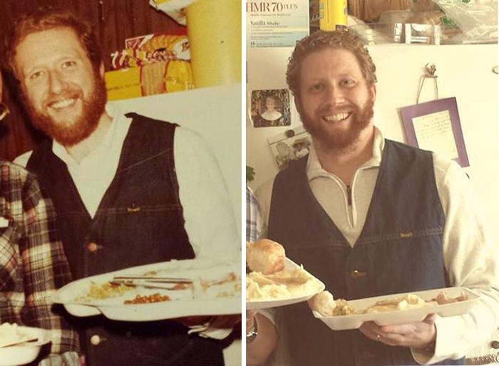 4. Отец в 1978, сын в 2013.