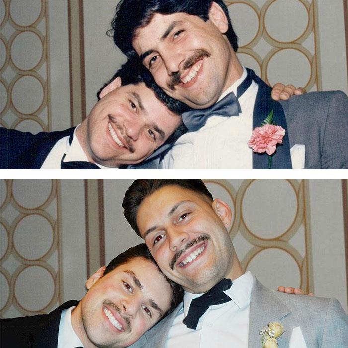 8. Друзья и их сыновья 30 лет спустя.