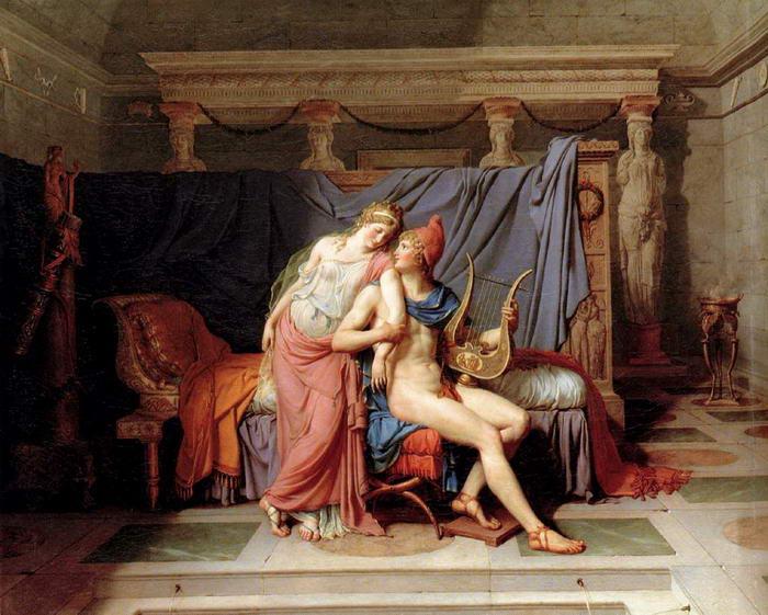 10 – Парис и Елена.
