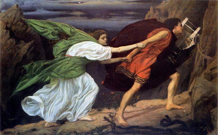 9 – Орфей и Эвридика.