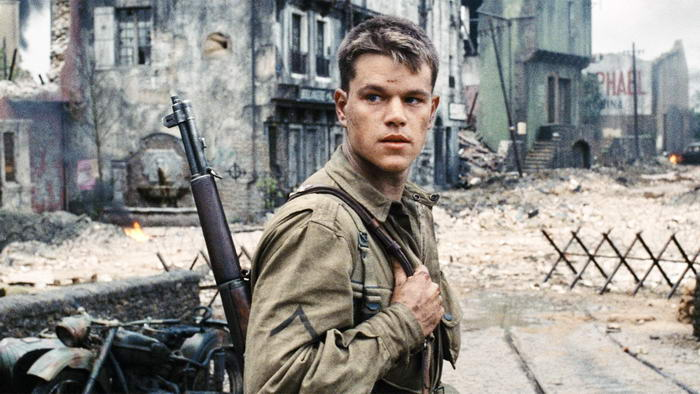 6.Спасти рядового Райана (1998).