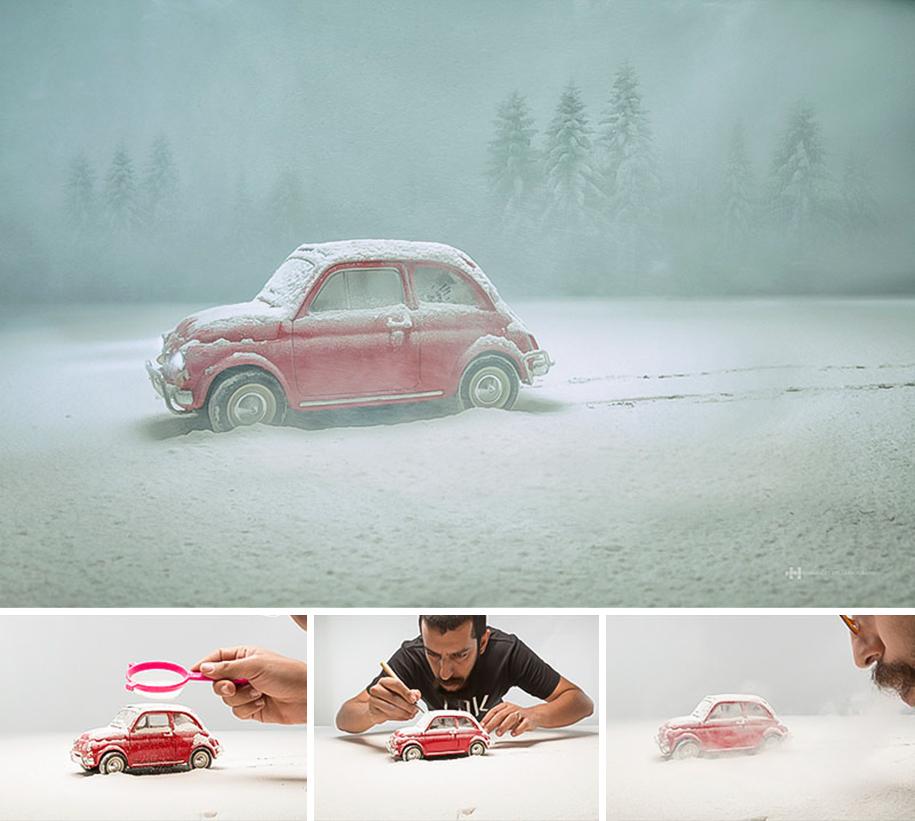 2. В работах Феликса Эрнандеса игрушки живут своей жизнью в своем выдуманном мире.