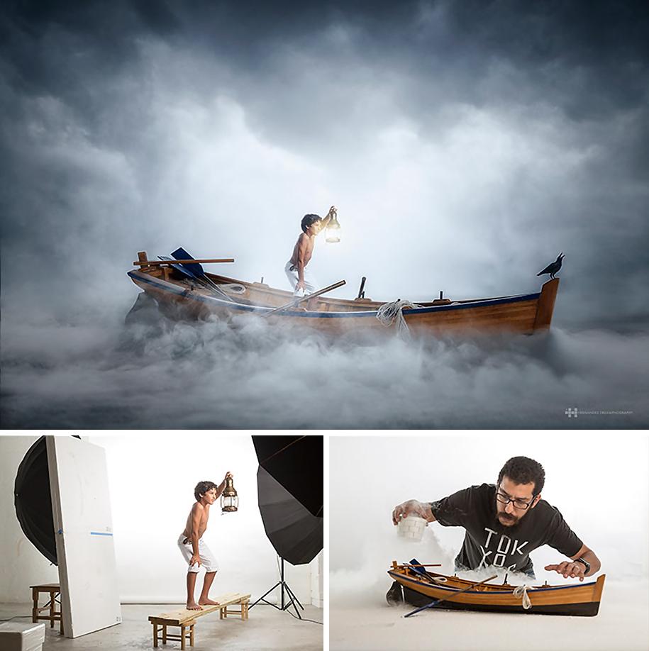 9. В лодке.