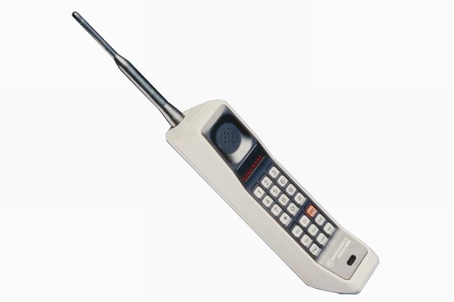 1. Motorola DynaTAC 8000X.