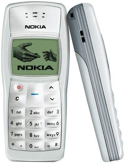 9. Nokia 1100.