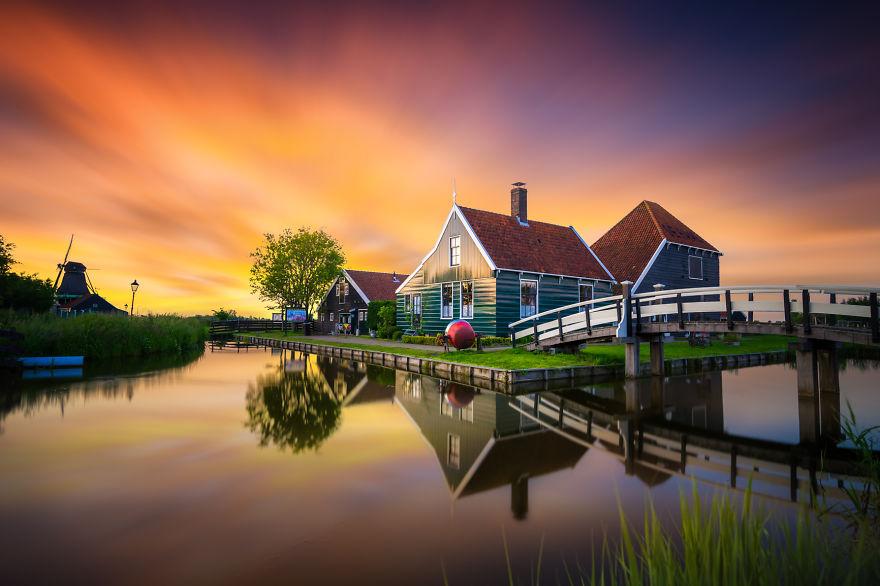 11. Заансе Сханс, Нидерланды.