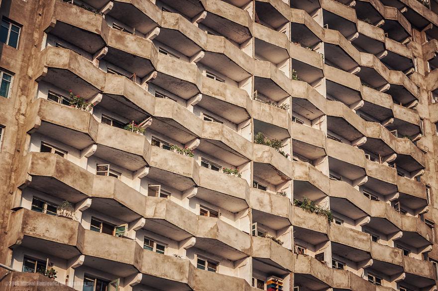 12. Дома Пхеньяна.