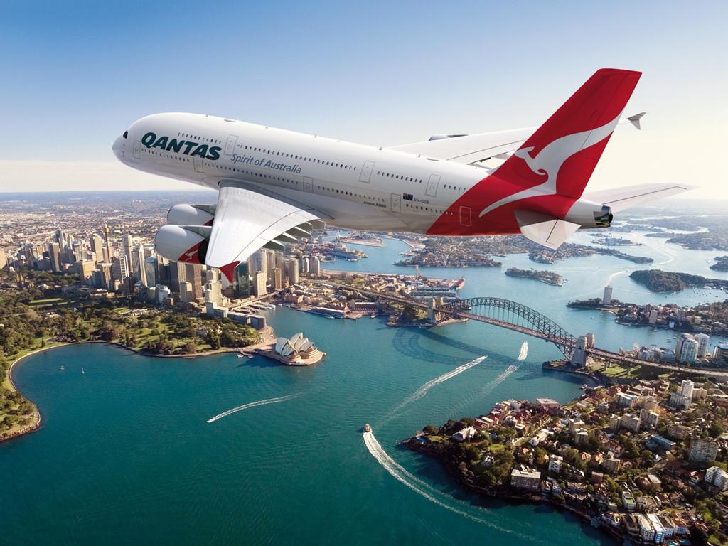 13. QANTAS – Австралия.
