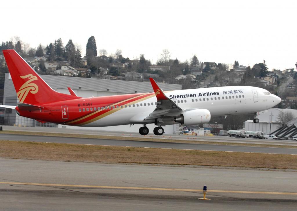 23. Shenzhen Airlines – Китай.