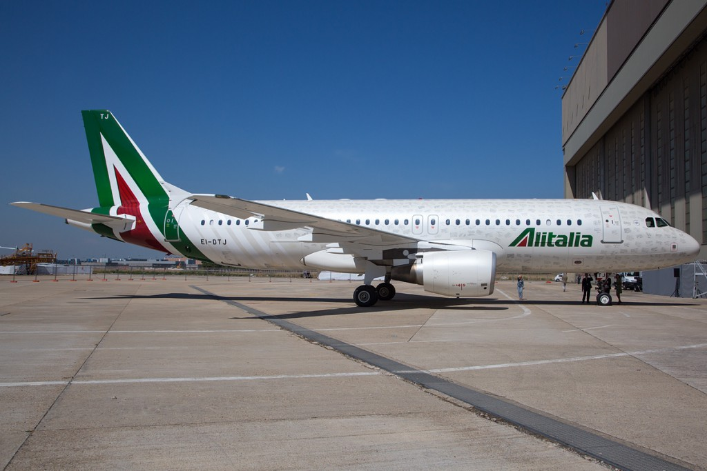 38. Alitalia – Италия.