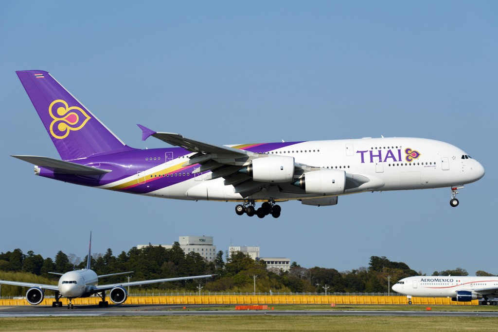 45. Thai Airways Intl – Тайланд.