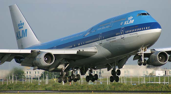 6. KLM – Нидерланды.