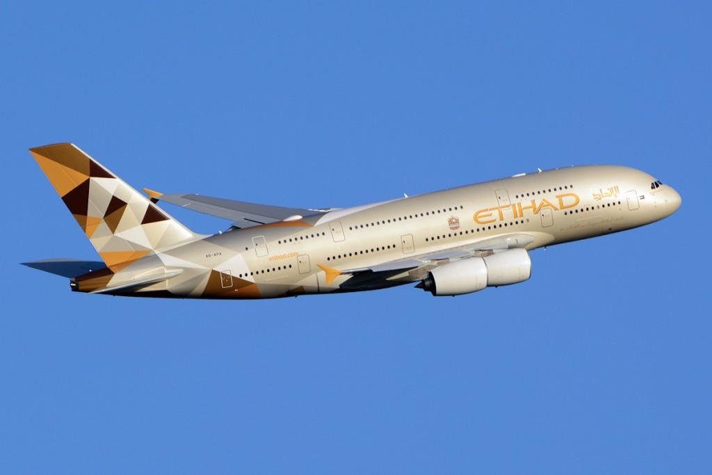 8. Etihad Airways – ОАЭ.