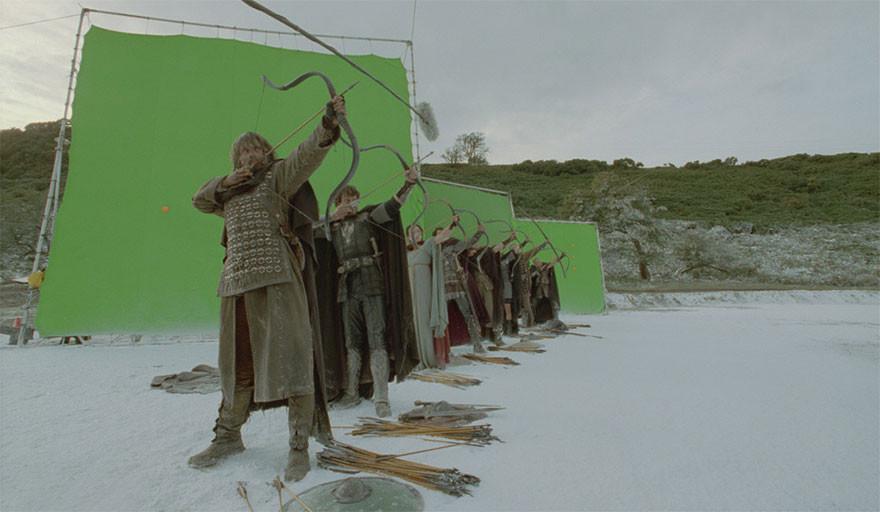 33. Король Артур - съемки.