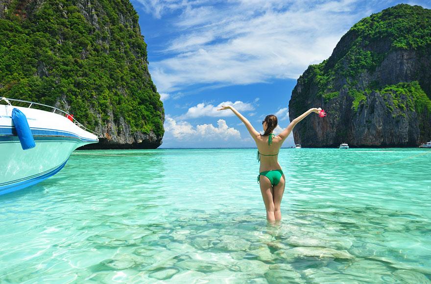 17. Сделать классное фото на пляже Таиланда – ожидание.