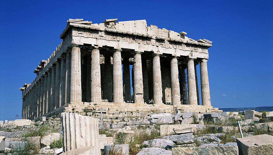 33. Посещение Акрополя в Афинах – ожидание.