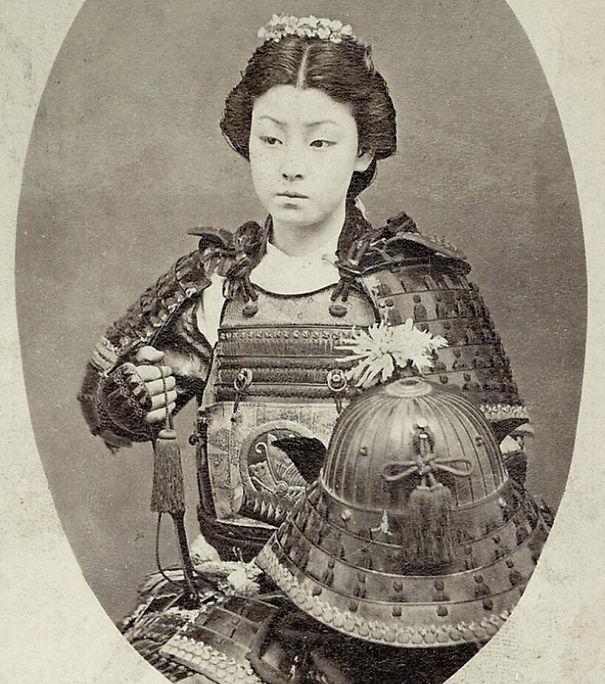2. Япония. Женщина воин.