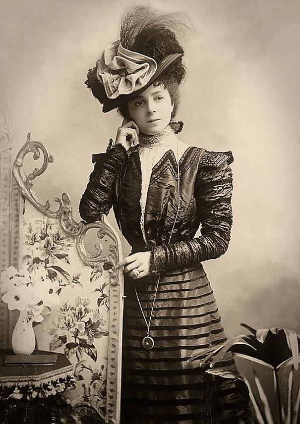 35. Веста Тилли - популярная британская певица и актриса.