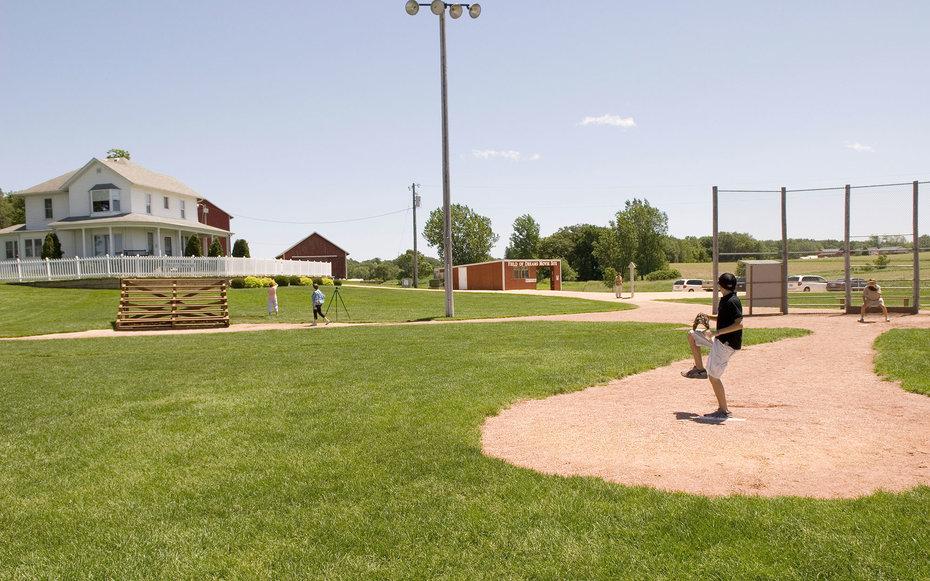 5. «Поле его мечты» - Бейсбольное поле в округе Дубьюк, Айова, США.