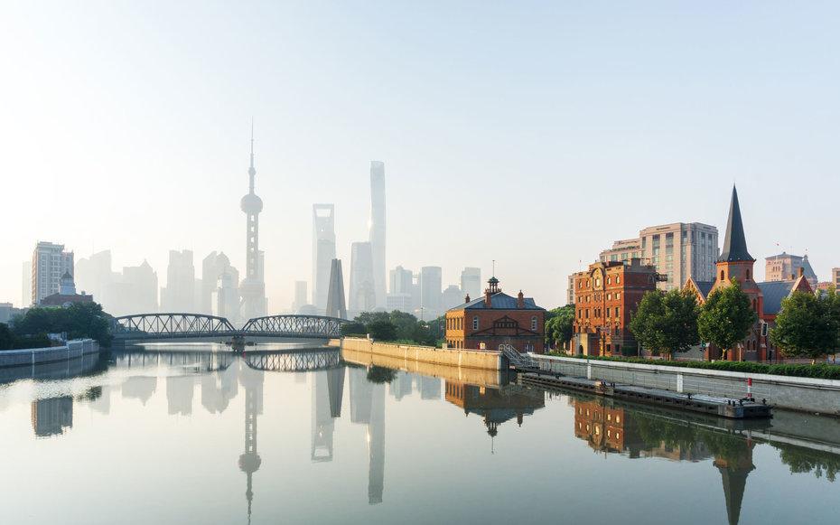 5. Шанхай, Китай.