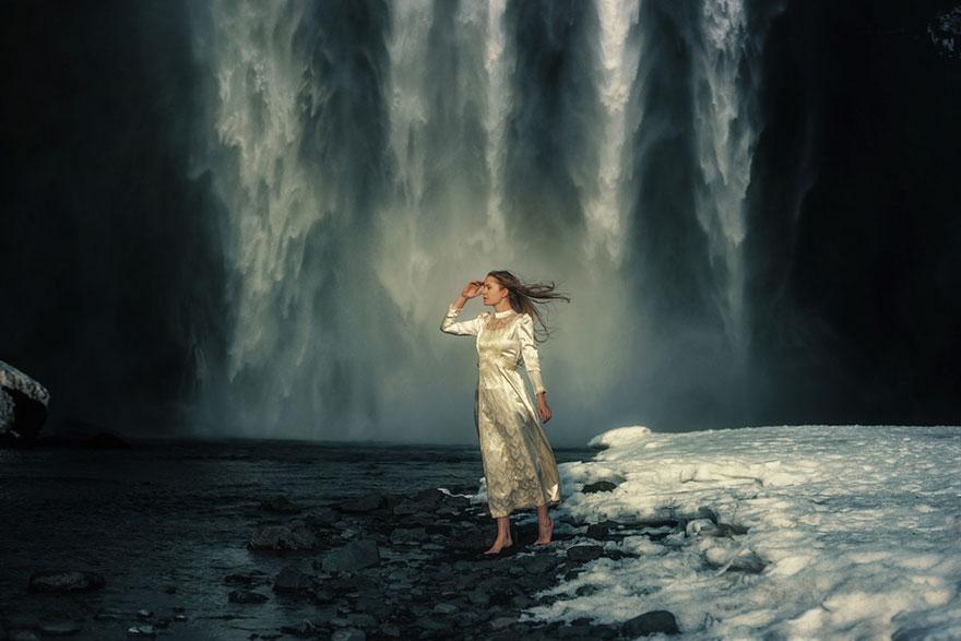 15. Водопад Скоугафосс, Исландия.