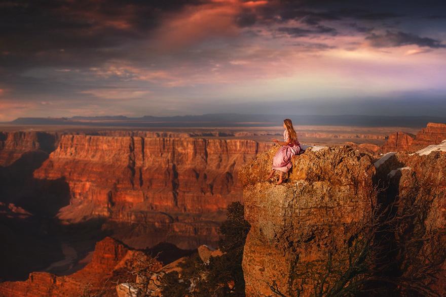 4. Большой Каньон, Аризона, США.
