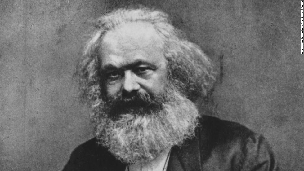 12. Одним из ярких представителей «бородатых мужчин» был Карл Маркс.