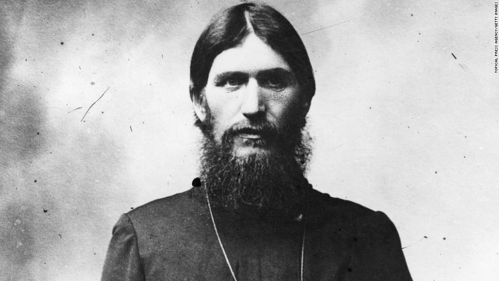 14. Григорий Распутин носил окладистую бороду и длинные волосы.