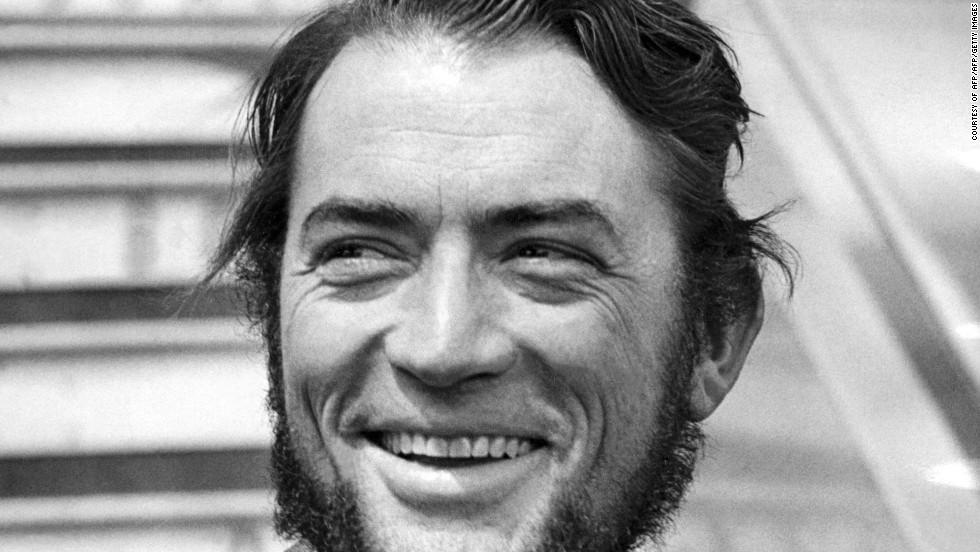 18. И даже американский секс-символ 50-60 годов Грегори Пек соблазнился отрастить бороду.
