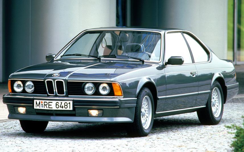 13. Оригинальный BMW 6-й серии, бесспорно очень красив.
