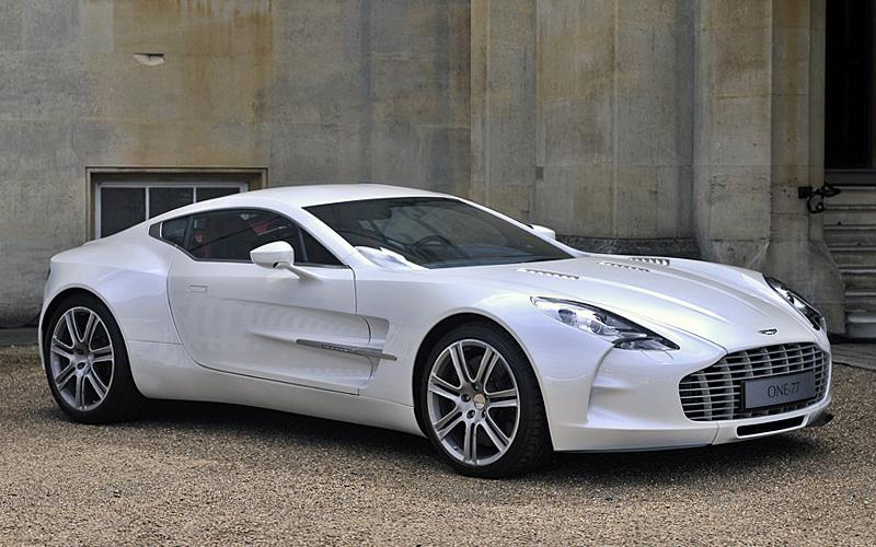 10. Aston Martin One 77.