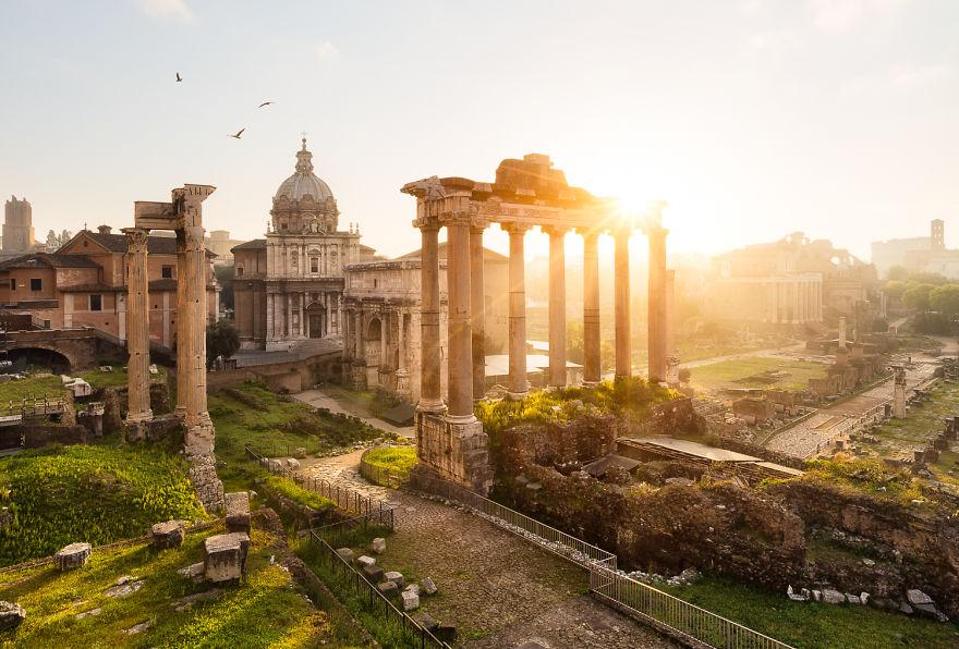 17. Рим, Италия.