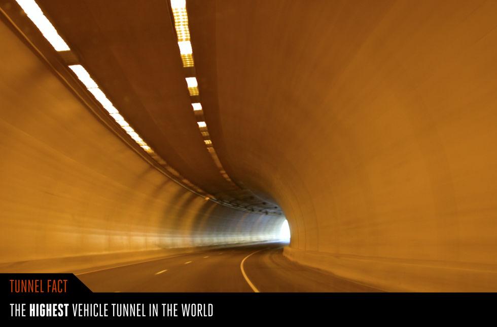 2. Тоннель Эйзенхауэра, Колорадо, США.