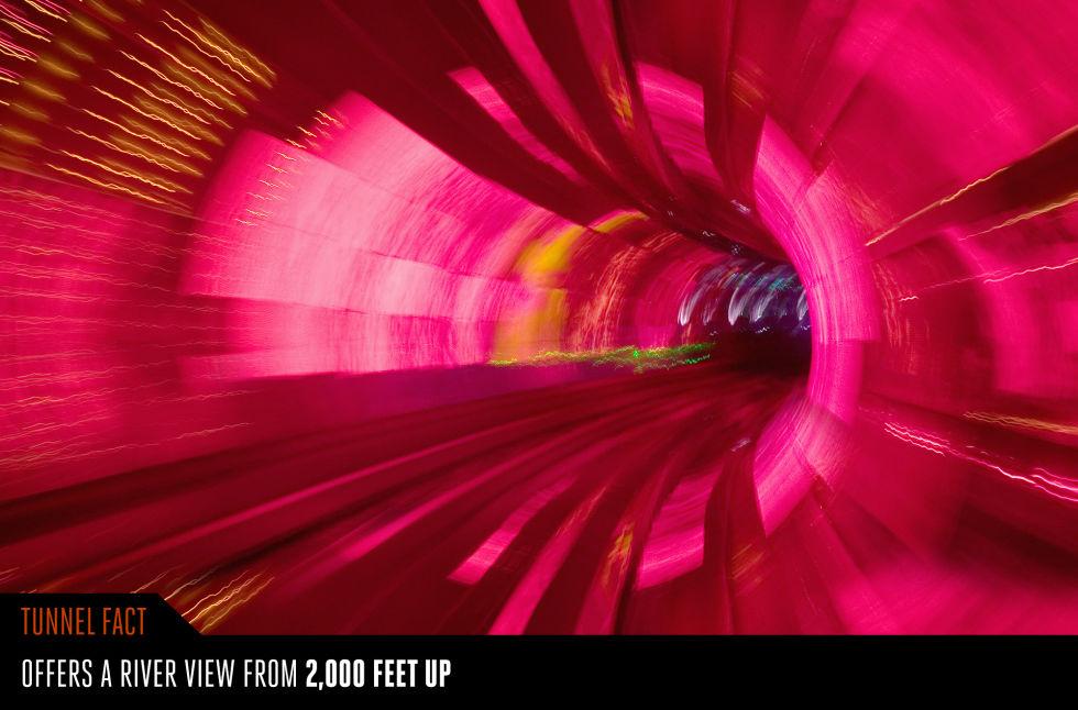6. Тоннель Бунд, Шанхай, Китай.