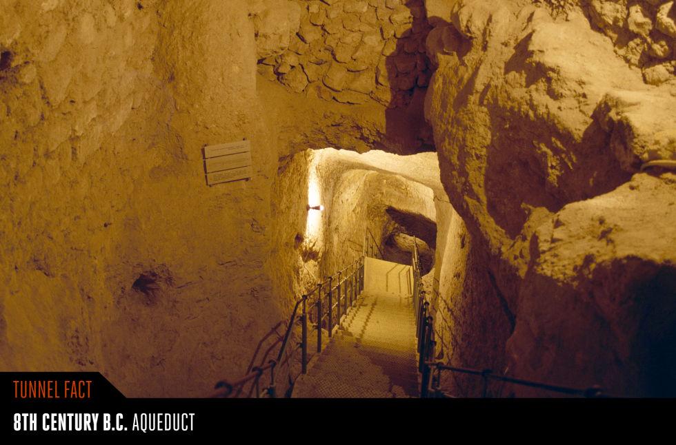 7. Силоамский тоннель, Израиль.