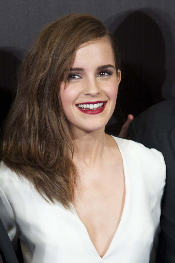 12. Эмма Уотсон, которую мы все помним по роли Гермионы в Гарри Поттере. У Эммы действительно покоряющая волшебная улыбка.