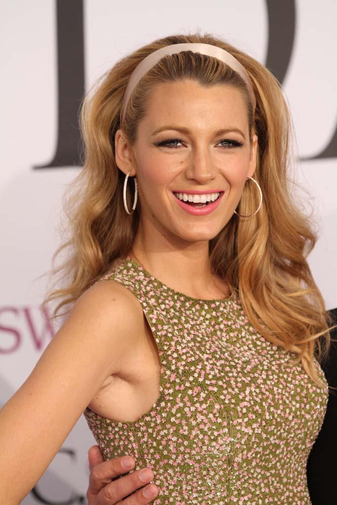20. Актриса Блейк Лайвли и ее лучезарная улыбка.