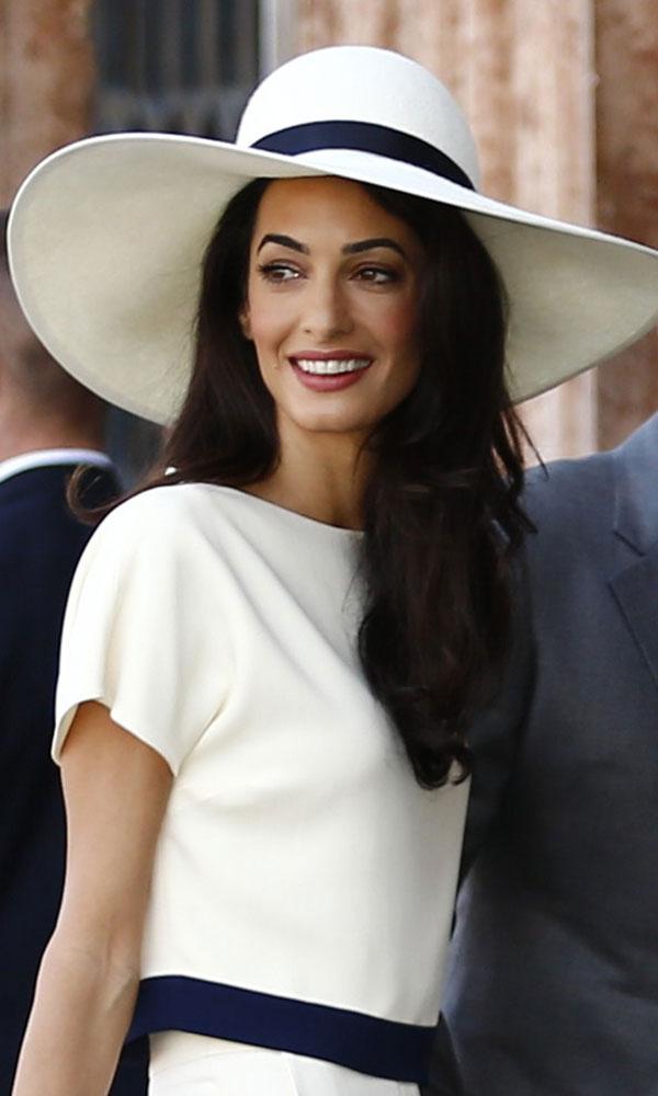 8. Британский юрист Амаль Аламуддин. Ее улыбка – просто сказка.