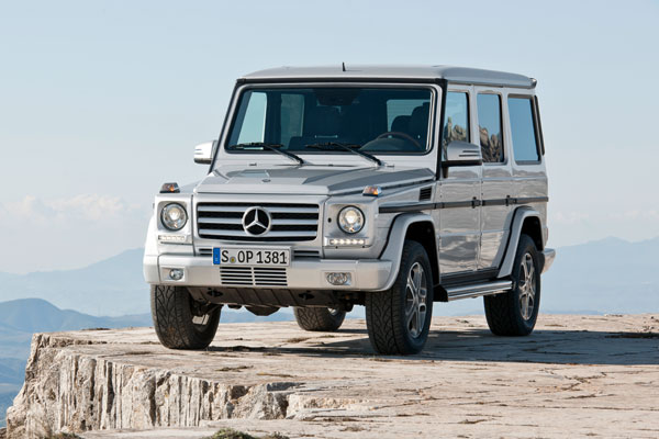 10. Mercedes-Benz G500.
