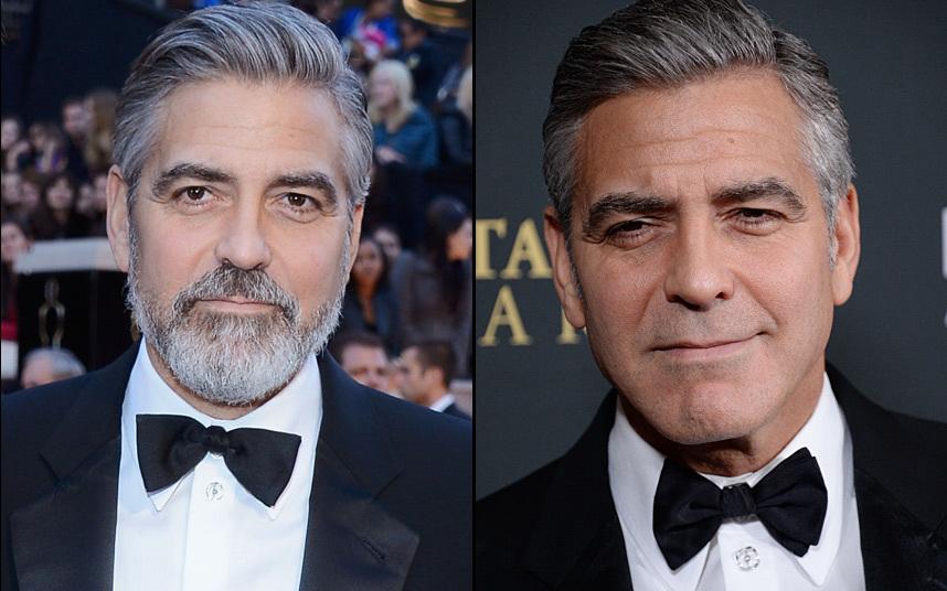 11. Джорджа Клуни с бородой видели почти все, но он тоже попадает в нашу подборку знаменитых бородачей. Надо сказать, что актеру такая борода очень идет.