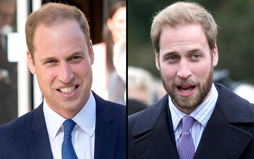 5. Не желая отставать от своего младшего брата Гарри, принц Уильям также решил отрастить бороду.