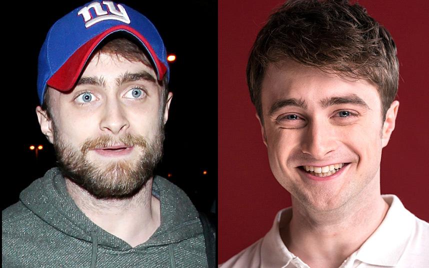 6. Бородатый Гарри Поттер. То есть Дэниел Редклифф. Нелегко видеть такое, после первых фильмов о Гарри Поттере, где он был совсем мальчиком.