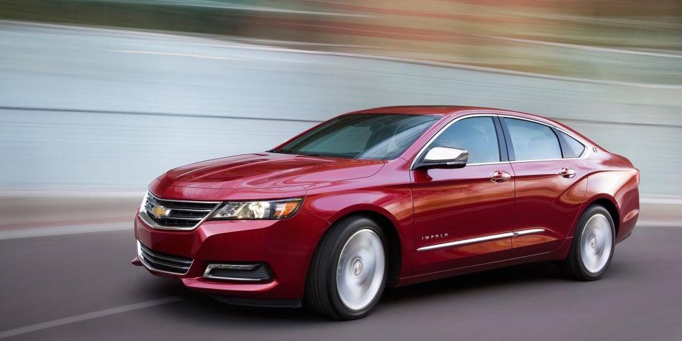 2. Chevrolet Impala V6 – 305 л.с. - $31 310.