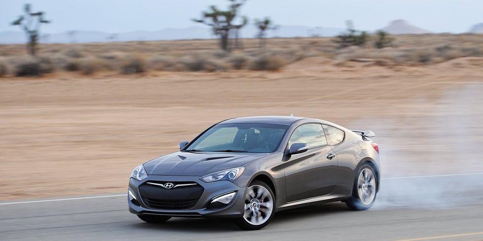6. Hyundai Genesis Coupe 3.8 – 348 л.с. - $26 950.